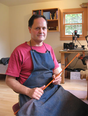 Roger Treat, bow maker.