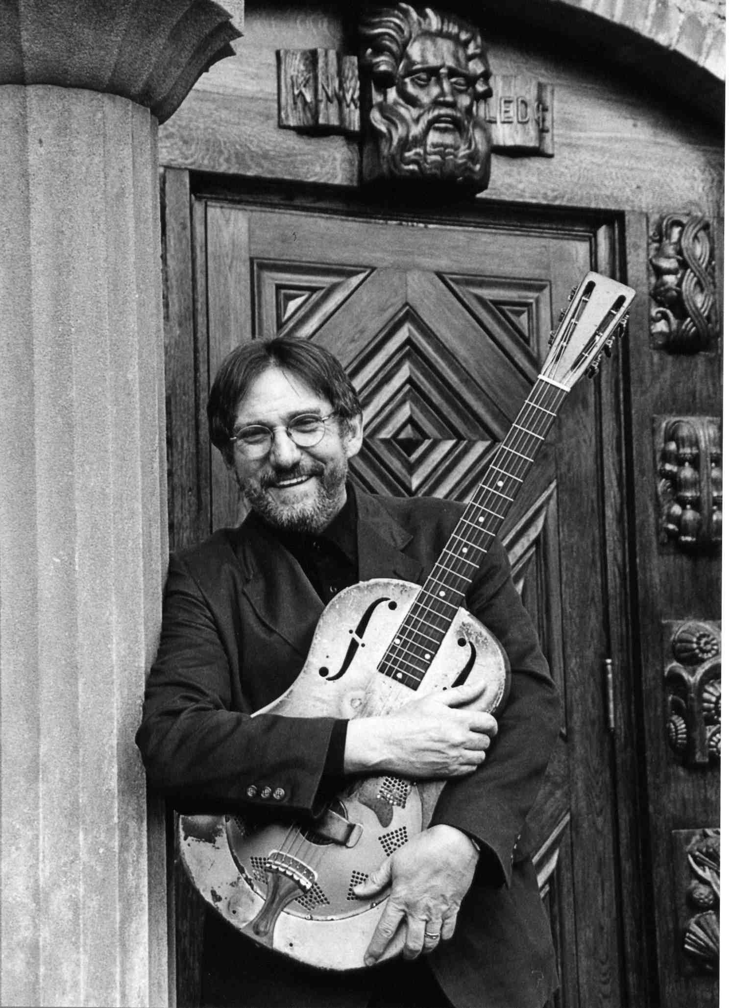 Bob Franke and his guitar