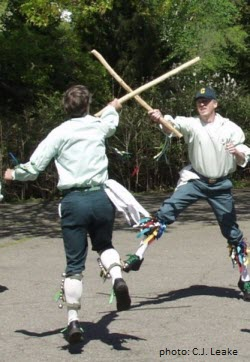 Morris Dancers with sticks