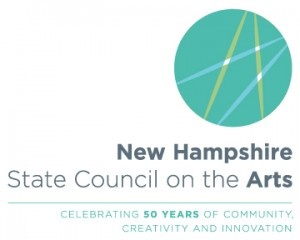 NH Council Arts 50 years logo