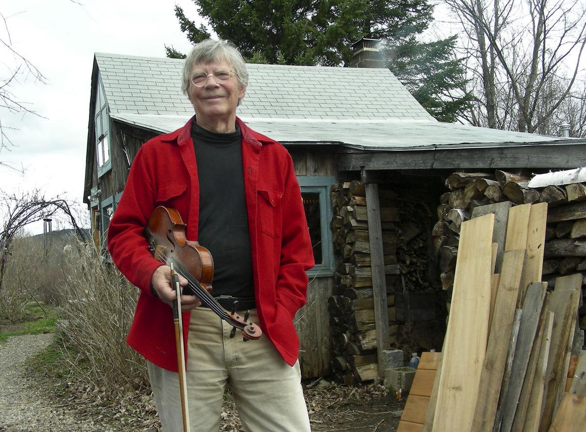 Dudley Laufman, photo by Jane Eklund