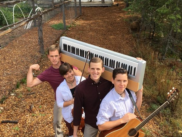 The four Richards siblings make up the band InTentCity