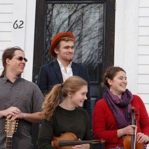 The contra dance band Polaris